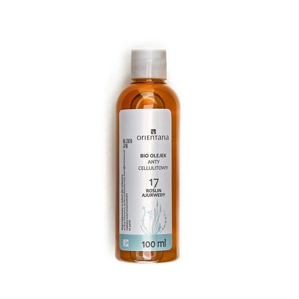 17 AYURVEDIC HERBS Anti-cellulite Oil