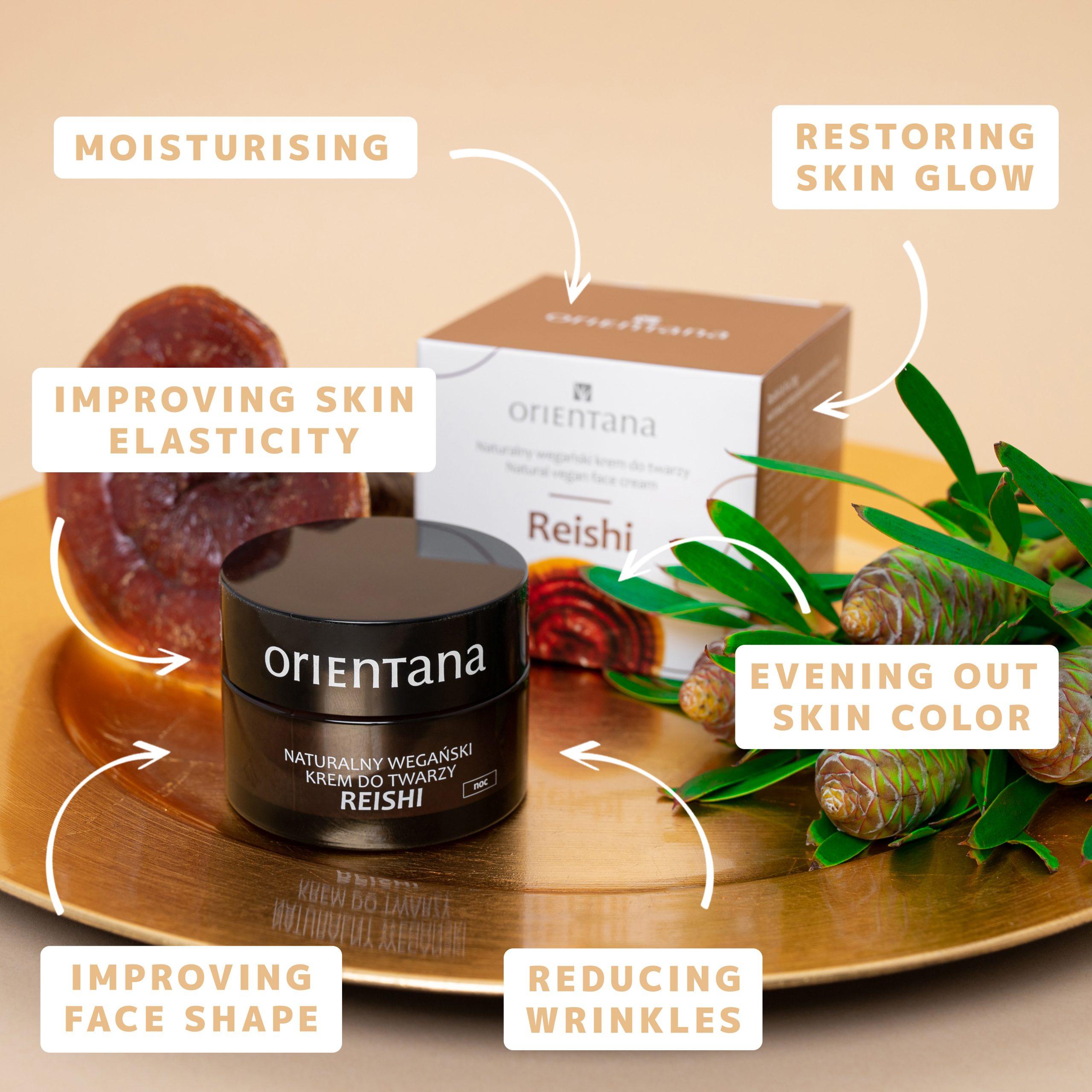 Reishi Natural Vegan Night Cream
