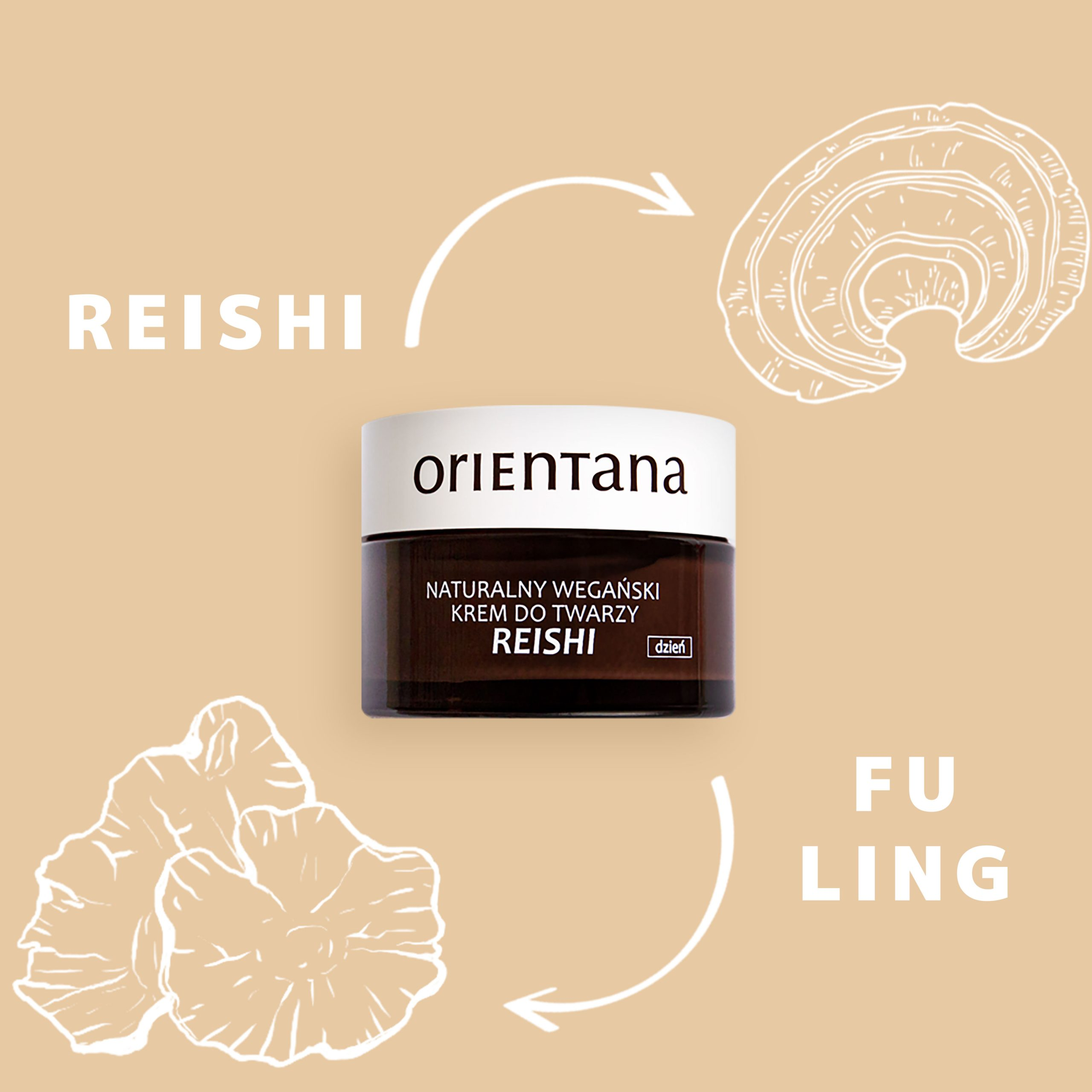 Reishi Natural Vegan Day Cream