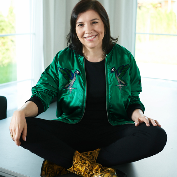 Anna Wasilewska owner and creator of Polish natural cosmetic brand orientana