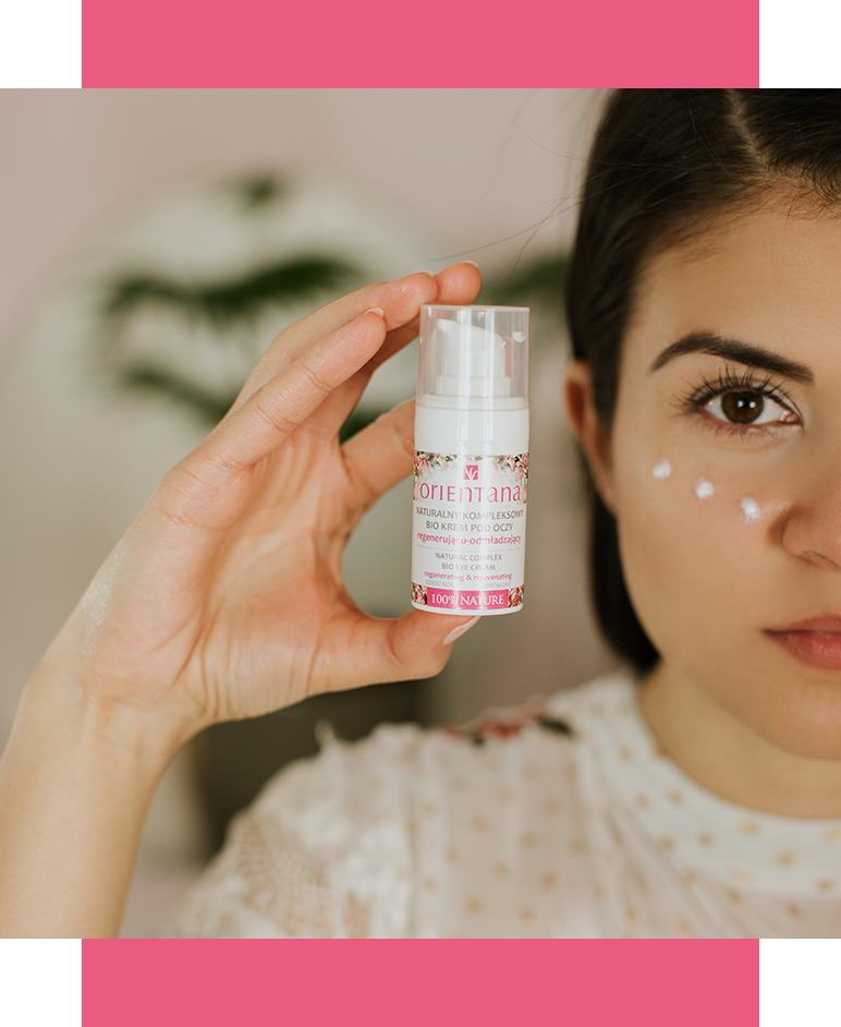 LET'S TAKE CARE OF SENSITIVE AND DELICATE SKIN AROUND OUR EYES!